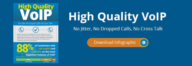 No Jitter, No Dropped Calls, No Cross Talk